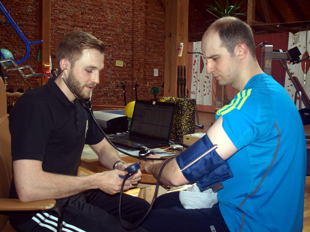 Wegerhof-Grundlagencheck-Blutdruckmessung